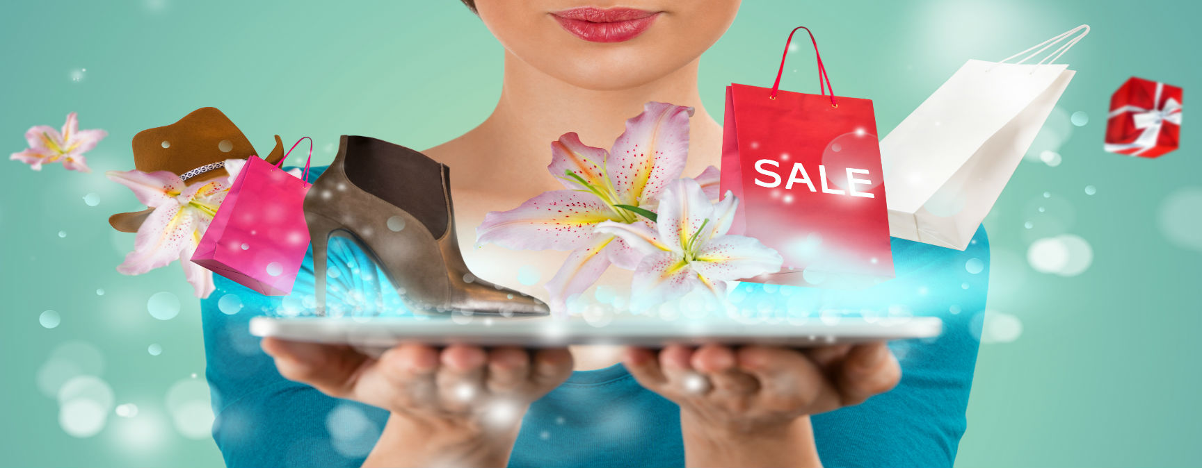 E-Commerce Marketing. Internet Retailer. Exciting online shopping and fulfillment.