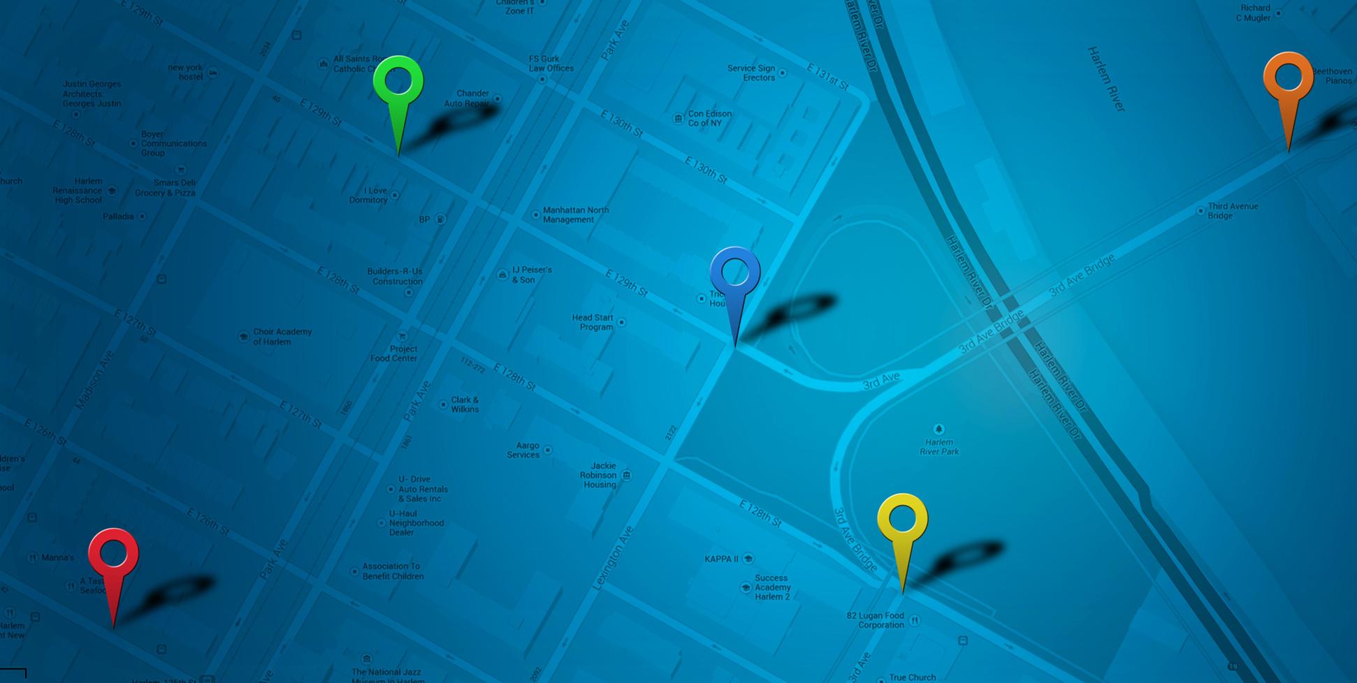 Site Map for WOM Communications LLC website